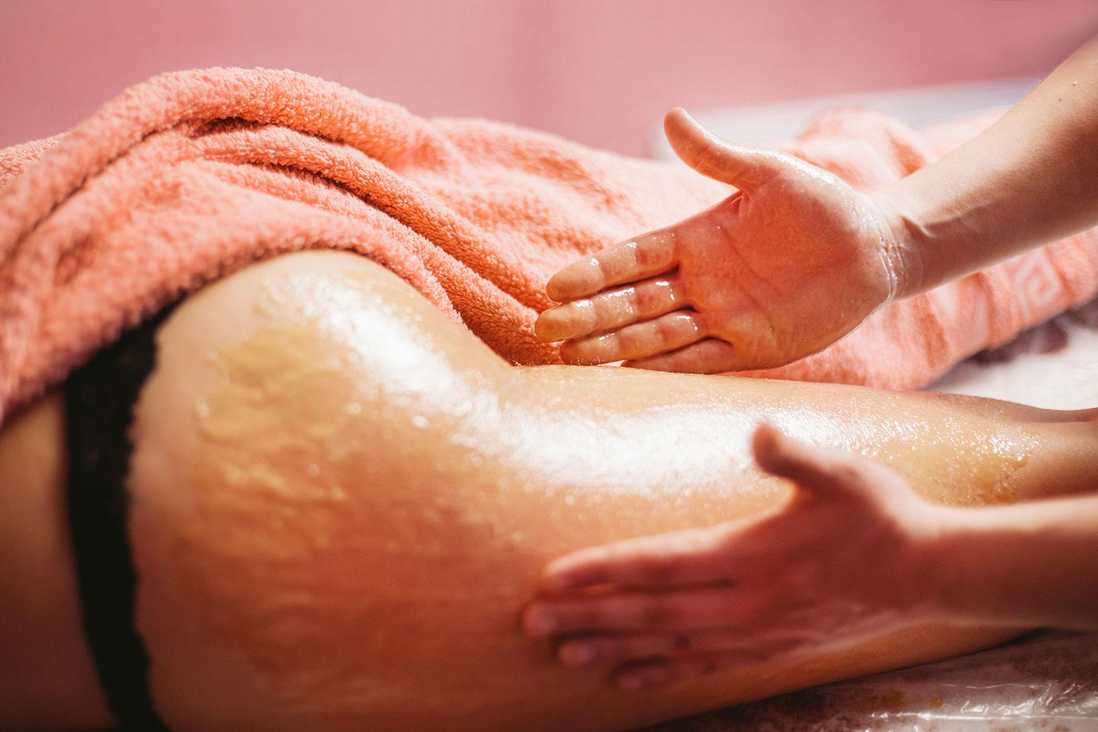 Массаж для похудение рук