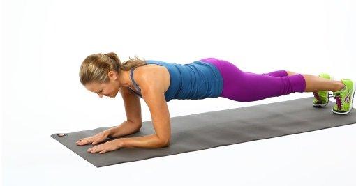 Детальная фотография к статье «Упражнение планка для похудения»