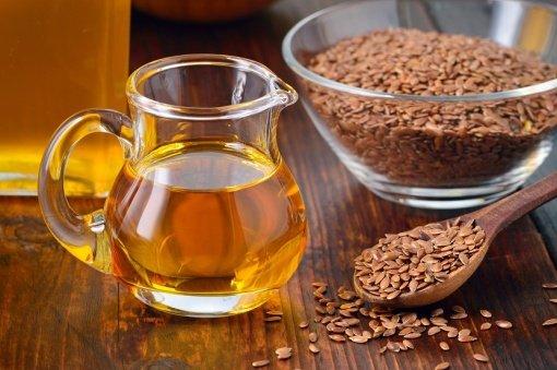 Детальная фотография к статье «Льняное масло для похудения»