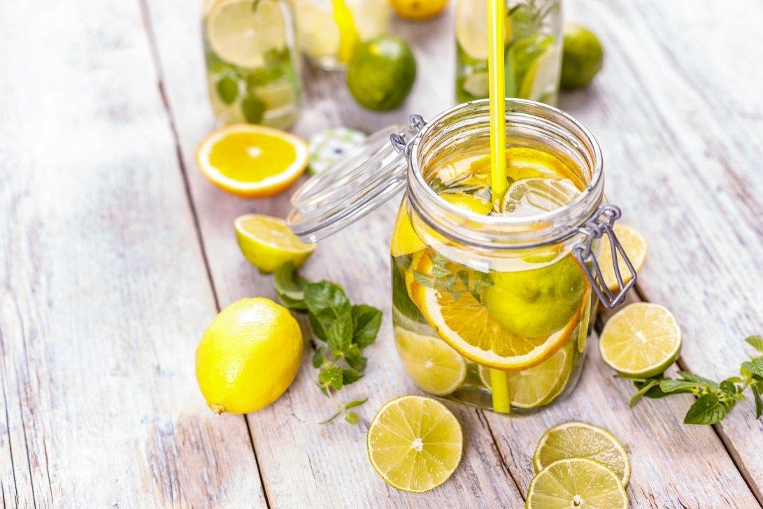 Похудения С Лимоном. Вода с лимоном для похудения