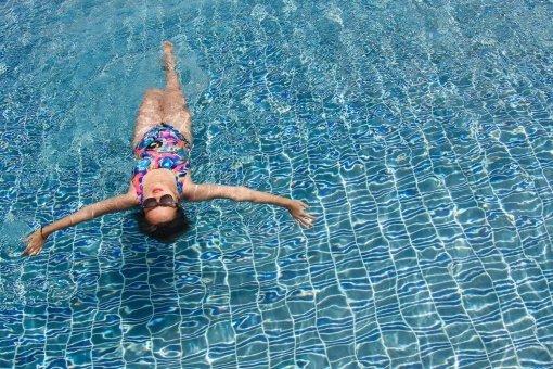 Детальная фотография к статье «Упражнения в бассейне для похудения»